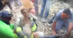 10-Year-Old Girl Miraculously Pulled Out Of Rubble Alive