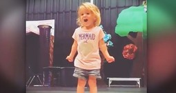 2-Year-Old Belts Out The Alphabet Song In The Cutest Way
