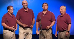 Barbershop Quartet Leads Worship With 'It Is Well With My Soul'