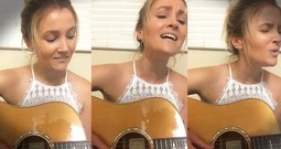Daughter Performs Emotional Song For Mother Who Can No Longer Sing After Stroke
