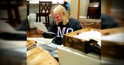 Woman Reads Box Of Letters On Her 18th Birthday From Family Members Written Years Ago