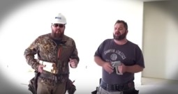 Singing Contractors Wow With A Cappella Hymn 'Farther Along'
