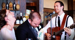 Best Man Writes An Adorable Song Instead Of Giving A Wedding Toast
