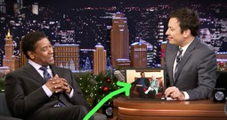 Denzel Washington Reunites With His Childhood Librarian And It's Precious