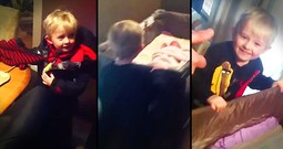Mom Tells Son She Has A 'Big Surprise' For Him, Then He Freaks When He Realizes It's His Sister