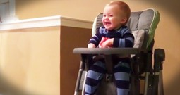 Baby Loves Trash Bags And It's Hilarious