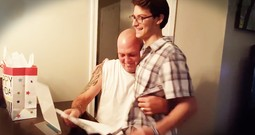 Step Dad Cries When Son Gives Him Adoption Papers For His Birthday