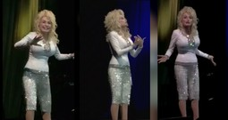 'Hello God' From Dolly Fan Dinner