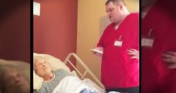 Hospice Worker Sings An Incredible Version Of 'How Great Thou Art' To Comfort A Patient