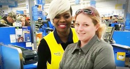 God Told This Walmart Cashier To Pay For Half A Stranger's Groceries