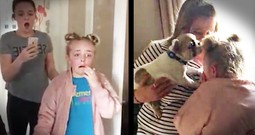 Little Girl Has The Sweetest Reaction To Her Surprise Puppy