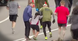 Woman Collapses Just Feet From The Finish Line And Total Strangers Do The Incredible To Help Her