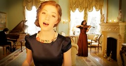 Young Girl Sings Stunning Rendition Of 'The Prayer' With Violin