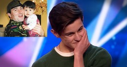 16-Year-Old Breaks Down When Father Surprises Him Before Audition