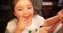 Little Girl Has Sweetest Reaction To Finding Out She's Gonna Be A Big Sister