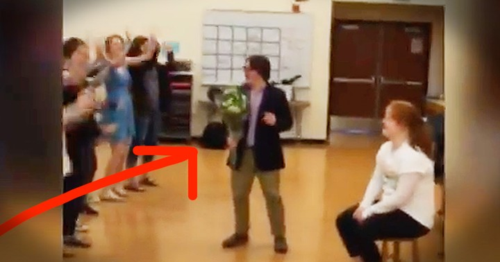 'My Girl' Promposal Is Too Cute To Miss