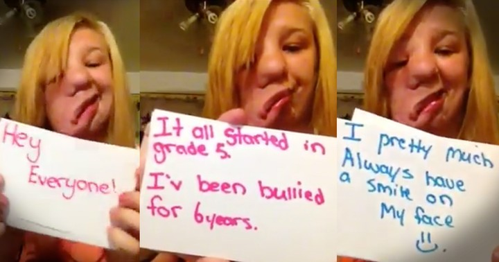 Girl's Note Card Testimony On Bullying Will Inspire You
