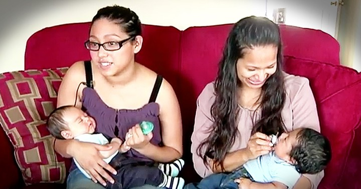 Mother And Daughter Have Babies Weeks Apart And It's Adorable