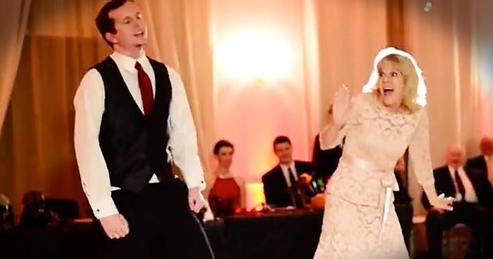 Mother Of The Groom Wedding Dance Has Adorable Twist