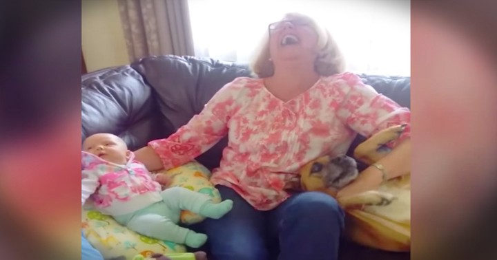 Dog Is Hilariously Determined To Stay The Family Baby